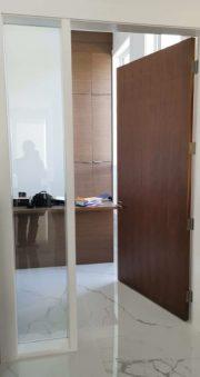 Flush Veneer Walnut Door